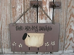 Ewe are my Sunshine Sheep Primitive Sign
