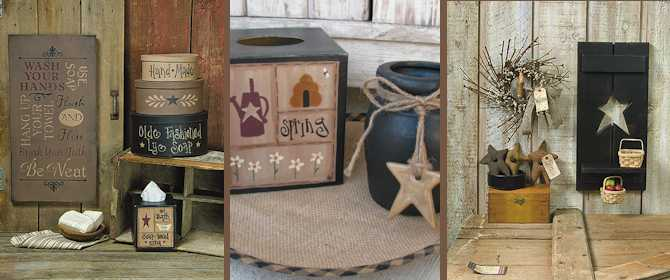 Primitive Country Crafts Primitive Home Decor Country Home Decor