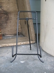 Black Wire Folding Easel