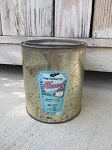 Antique Vintage Robert Lind Honey Tin from Manawa Wisconsin