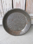 Antique Vintage Sunkist in Cursive Pies Metal Nine Inch Pie Pan