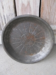 Antique Vintage Sunkist Pies Metal Nine Inch Pie Pan