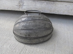 Antique Primitive Early Acorn Shaped Bread Pudding Baking Mold Small Old and Original