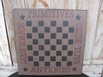 Primitive Country Game Board Checkerboard