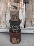 Primitive Crocks Jugs and Jars Primitive Set of 4 Stacking Boxes