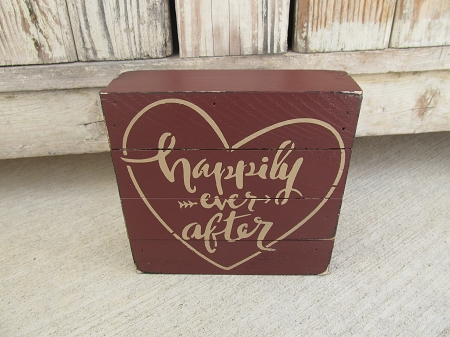 Hand painted Valentine's Day signs |Valentine Hand Painted Wood Signs