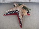 Primitive Americana Homespun Star Pillow Stack Bundle