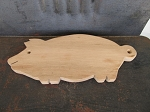 Primitive Antique Little Pig Wooden Cutting Board