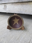 Primitive Mini Star Bowl with Stand