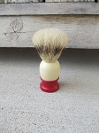 Antique Vintage Red Tip Ever Ready Shaving Cream Brush