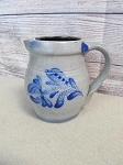 Rowe Pottery Works Salt Glazed Handled 4 1/2