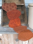 Primitive Pumpkin Table Runner Hand Made