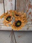 Burlap Primitive Rustic Sunflower Bunch