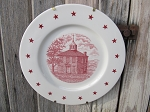 Antique Ohio First State Capital Sesquicentennial  150th Anniversary Chillicothe 1803 Plate