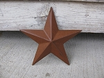 Primitive 5 Inch Rusty Barn Star