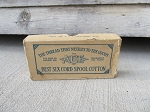 Antique ACE Best 6 Cord Spool Cotton Box Sewing Room Decor