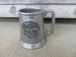 Vintage Wilton Pewter RWP Seal of the State of Minnesota Tankard Mug with Markings