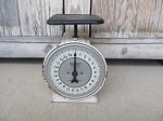 Vintage Hanson Scale 25 Pound Authentic Farmhouse Country Kitchen Scale