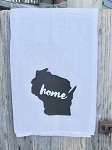 Primitive Farmhouse Home State Flour Sack Towel