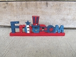 Blossom Bucket Americana Freedom on Base Fourth of July