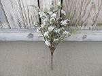 Primitive Bliss Buds Flower Bush in Cream