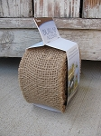 Burlap Natural Jute Fiber Roll of Ribbon