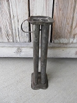 Antique Primitive Early 6 Candle Mold with Handle