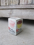 Antique Vintage Bakers Choice Cup Cake Baking Liners Box with Liners Inside