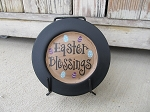 Primitive Easter Mini Hand Lettered Word Plate