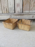 Primitive Antique Berry Market Crate