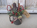 Primitive Antique Gingerbread and Candy Cane Sugar and Spice Flour Sifter