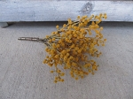 Primitive Gooseberry Bush Floral Fall Autumn