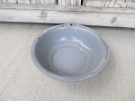 Antique Vintage Primitive Marbled Grey Enamelware Graniteware 10 1/2
