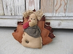 Primitive Thanksgiving Fall Hand Made Hank the Turkey