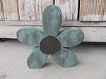 Rustic Wood Track Green Daisy