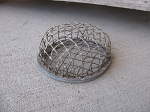Vintage Antique Industrial Chic Cage Style Flower Frog