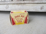 Antique Vintage Park Ave. Ice Cream One Pint Box