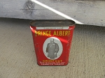 Antique Vintage Prince Albert Crimp Cut Tobacco Tin