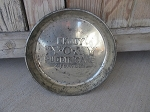 Antique 1950's Vintage Py O My Pudding Cake Pan with Advertisement