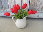 Primitive Real Touch Tulip Single Stem Red