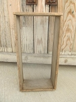 Primitive Antique Sifting Screen Wooden Box