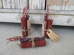 Primitive Americana Firecracker Bundle Bowl Fillers-Set of 3