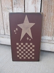 Primitive Stars Checker Game Board 12x8