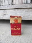 Antique Ann Page Stick Cinnamon Cardboard Spice Carton New York