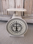 Vintage Way Rite Scale 25 Pound Authentic Farmhouse Country Kitchen Scale