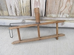 Antique Primitive Rustic Wooden Rope Winder