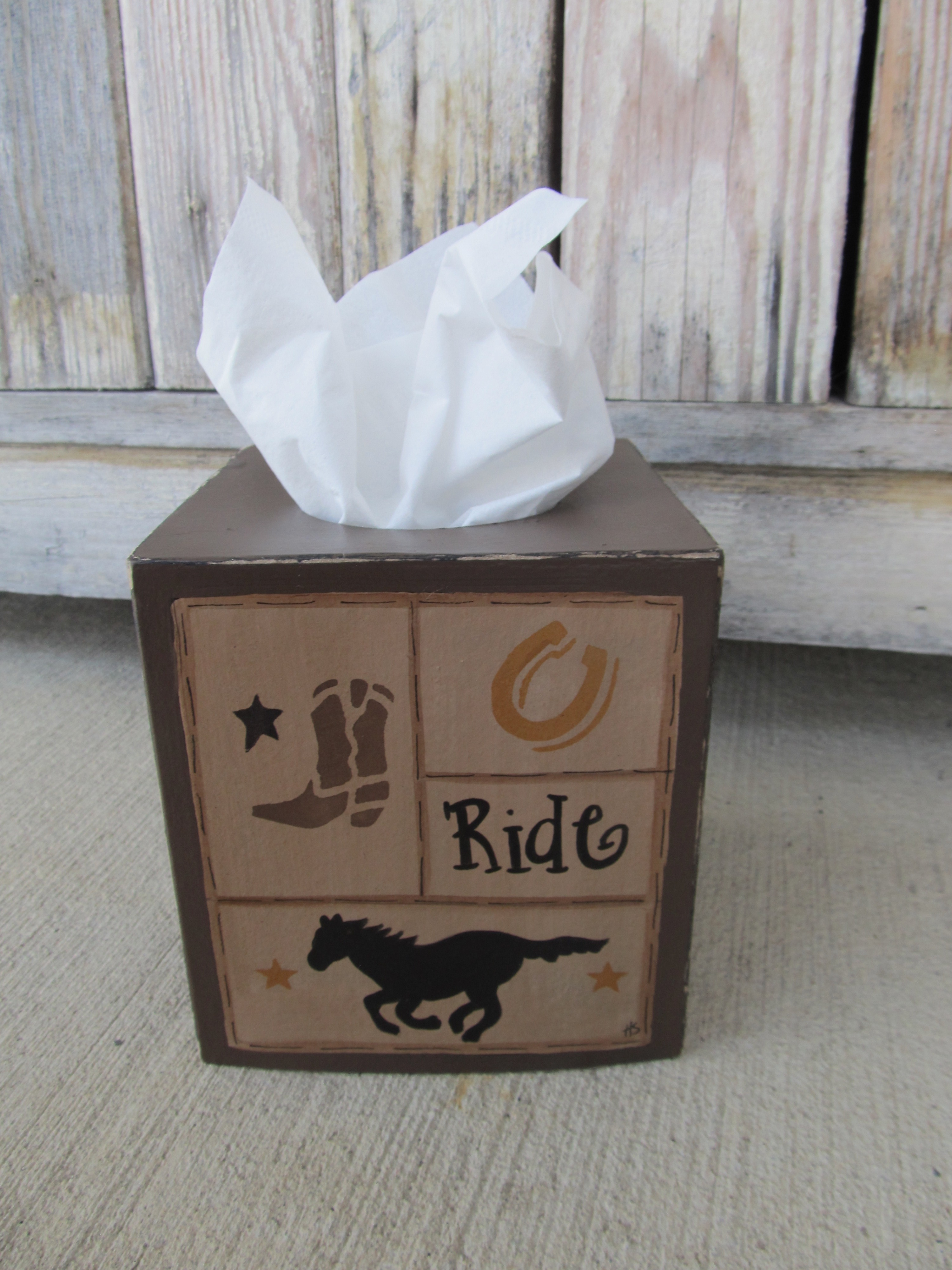 Primitive Wood Toilet Paper Cover ANY COLOR